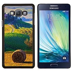 TECHCASE---Cubierta de la caja de protección para la piel dura ** Samsung Galaxy A7 ( A7000 ) ** --campo paisaje italia