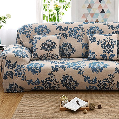 Fastar 1 2 3 4 Seater Sofa Cover Stretch Sofa Slipcover Anti-skid Elastic Polyester Couch Cover Protector