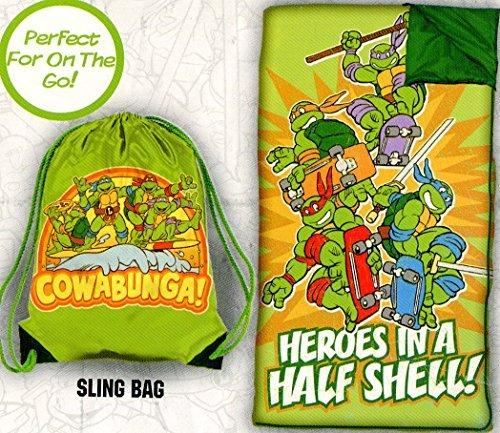 Teenage Mutant Ninja Turtles Slumber Bag Set -