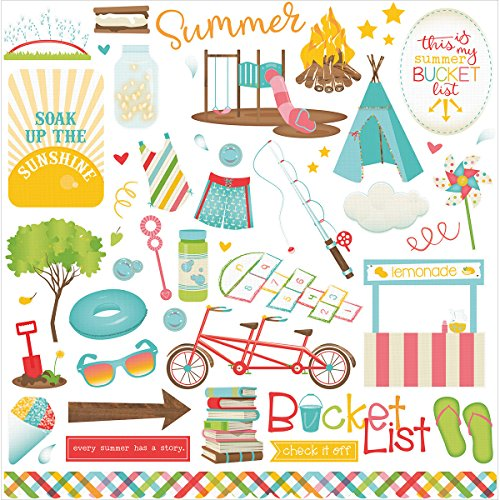 Summer Bucket List Element Stickers - Photoplay -