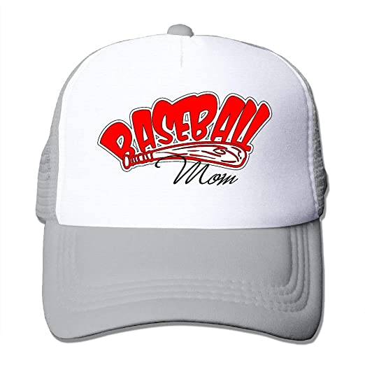 LETI LISW Unisex Baseball Mom Adjustable Printing Snapback Cute Trucker Hats  for Men s 31c8cf72d04f