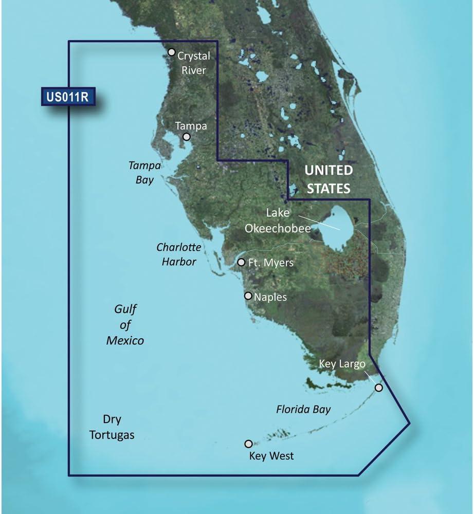 VUS011R BlueChart G2 Vision MARINE GPS MAP micro SD//SD FOR GARMIN GPS//SOUNDER
