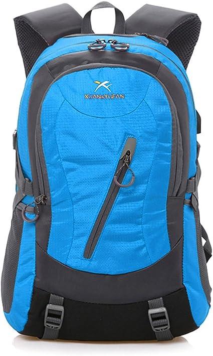 Hiking Backpack 35L Waterproof Outdoor Daypack Internal Frame Backpack Men Women