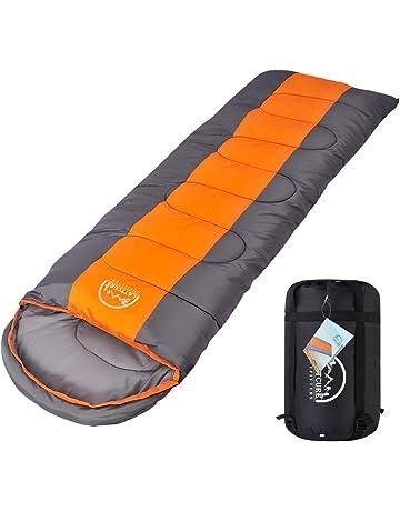 LATTCURE Outdoor Camping Premium Momia Saco de Dormir, Suave, Gruesa y cálido