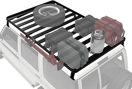 Front Runner Baca de Techo Slimline II para Land Cruiser 70: Amazon.es: Coche y moto