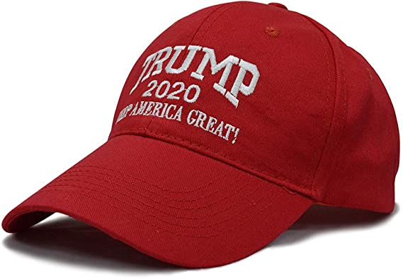 NIU MANG 1 pieza Trump 2020 gorra ajustable con la bandera de Estados Unidos Keep America Great Hat: Amazon.es: Ropa y accesorios