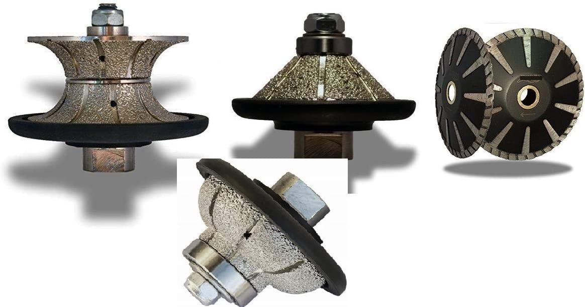 Diamond Router Bit for Grinder 20mm V Profile Bullnose