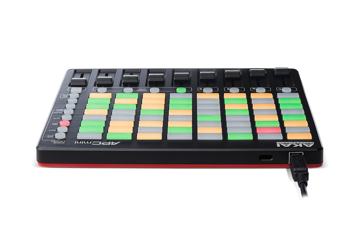 Akai Professional APC Mini | Compact Ableton Live controller with Ableton Live Lite Download (8x8 Backlit Clip-Launch Grid) by Akai (Image #4)