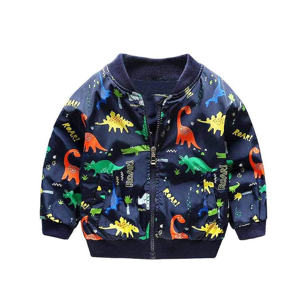 Hellowarm Kinder Winter Dinosaurier Windjacke im Freien