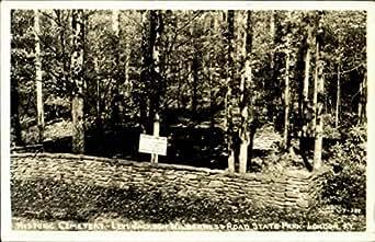 historic cemetery levi jackson wilderness road state park london kentucky original vintage. Black Bedroom Furniture Sets. Home Design Ideas