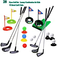 SOWOFA ¡Tamaño Grande! Juego de Accesorios de Golf para niños y niñas (24 Piezas)