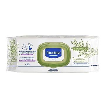 Amazon.com: Mustela - Toallitas de limpieza para bebés con ...