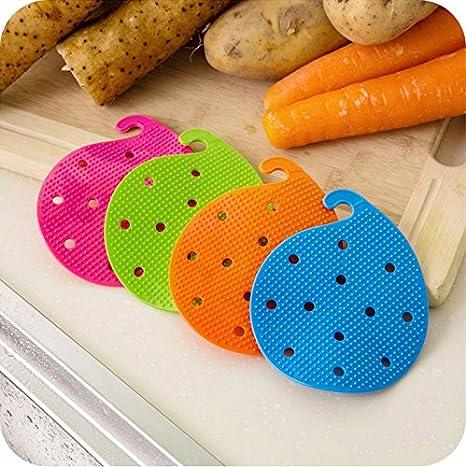 Zoomy Far - Pincel para frutas y verduras, patatas y suelo, para ...