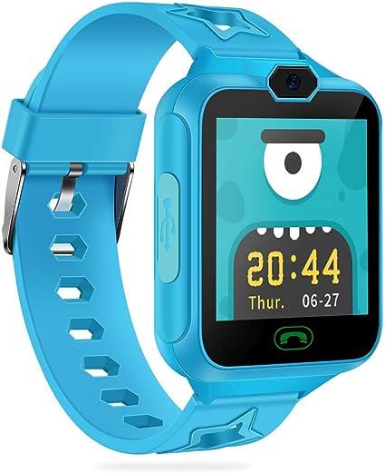 AGPTEK Smartwatch Niños con 8GB SD Tarjeta, Reloj Inteligente para ...