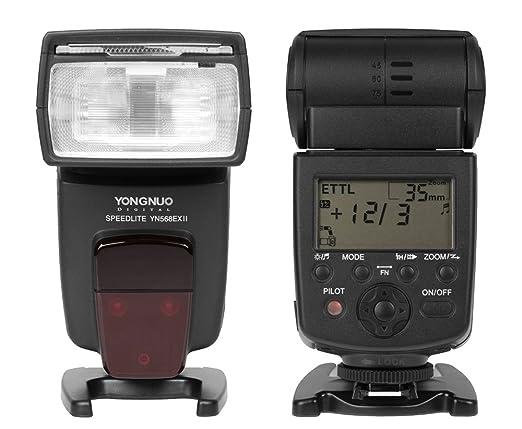142 opinioni per Yongnuo YN-568EX II Flash Speedlite per Canon EOS da HSS speed 600D 550D 500D