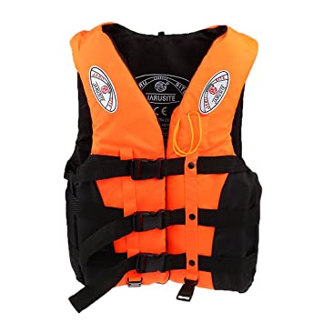Water Sports Learned Polyester Swimming Life Jacket Professional Life Vest For Drifting Boating Survival Fishing Safety Jacket Water Sport Wear 30 Cheap Sales