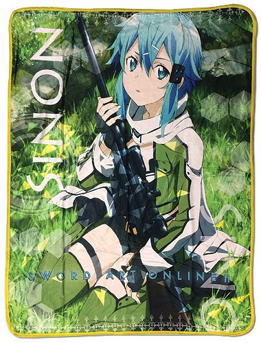 Great Eastern Entertainment Sword Art Online 2 - Sinon Sublimation Throw Blanket
