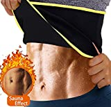 curves sweat belt - Women's Hot Thermo Sweat Shapers Slimming Belt Sauna Waist Cincher Girdle for Weight Loss