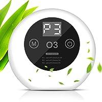 ACADGQ Purificador de Aire Portátil,Ultrasilencioso Generador de Ozono,Ionizadores de Aire con LED Display…