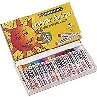 Pasteles al óleo para el artista junior Sakura Cray-Pas, varios colores, juego de 16
