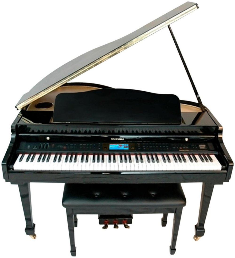 Suzuki, 88-Key Digital Pianos - Home (MDG-400 bl) by Suzuki