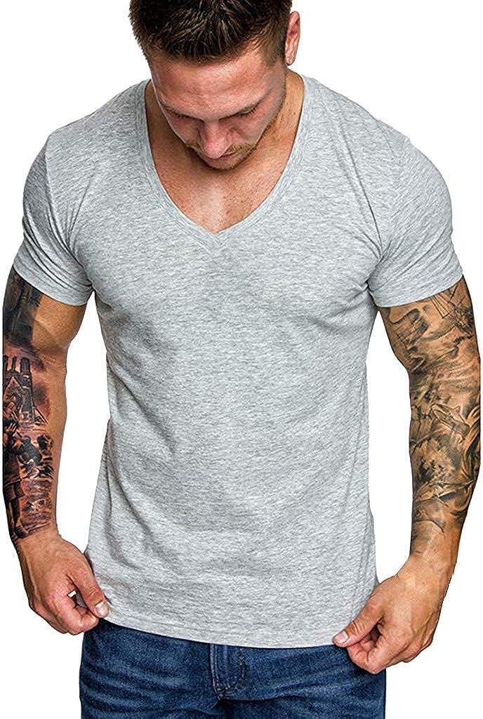 Sayla Camiseta para Hombre Manga Corta Verano Polo ...