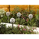 Smart Garden Rainbow Glass Stake 4 pk
