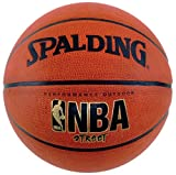 Official NBA size and weight. Designed to withstand the competitive street game. Durable rubber outdoor cover with deep channels for incredible grip.