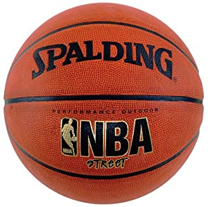 Spalding NBA Street Basketball - Official Size 7 (29.5