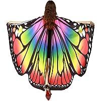SERWOO Chal Alas Mariposa Estolas Duendecillo para Mujer