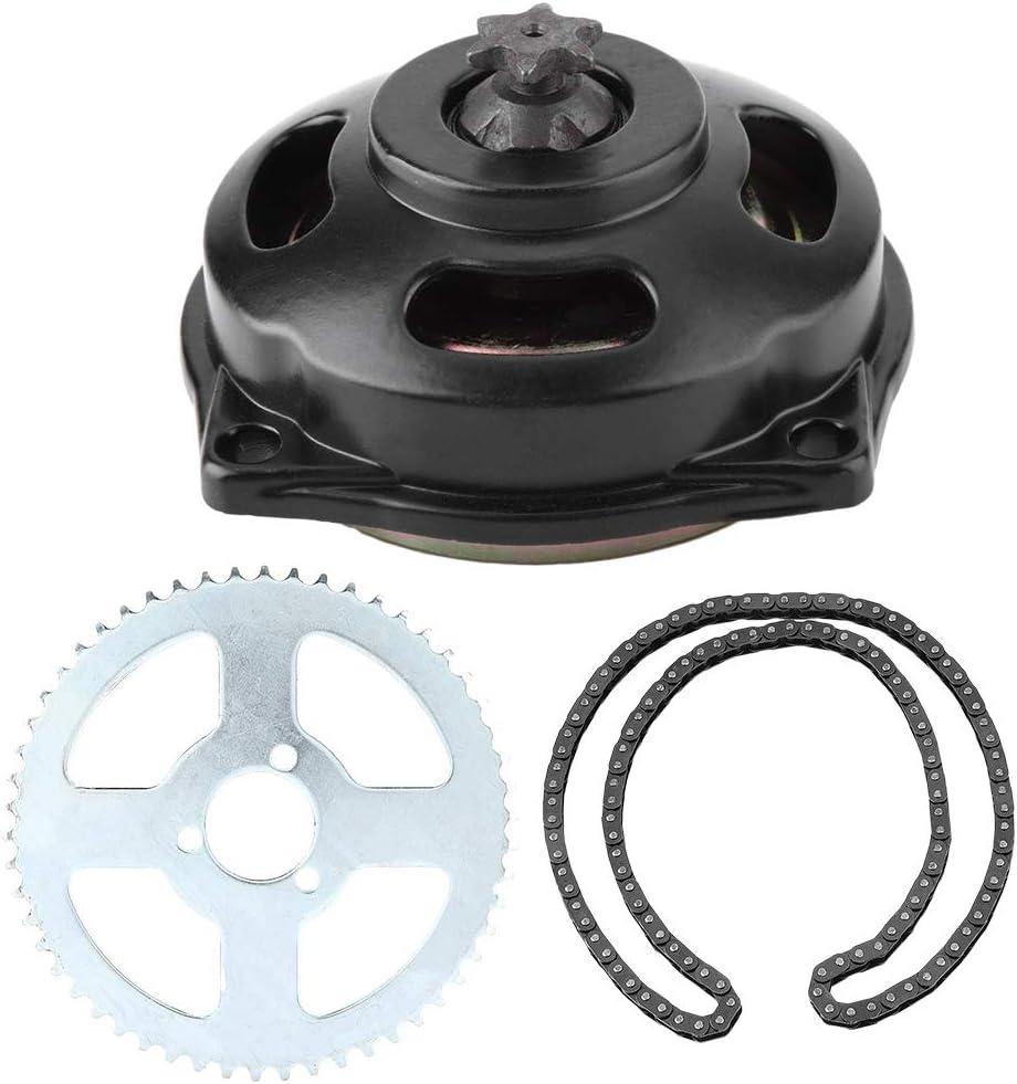 Senyar Motorcycle Sprocket Kit,Drive System T8F Chain /& 6T Gear Box /& Rear Sprocket Kit for Mini Motorcycle 47cc 49cc Motorbike