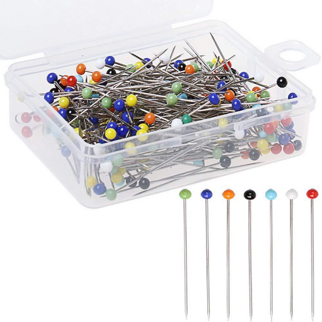 Perle Nadel Runde Kopf Kleidung Pins 100 st/ücke 37mm N/ähen DIY Dekoration Kunsthandwerk N/ähzubeh/ör