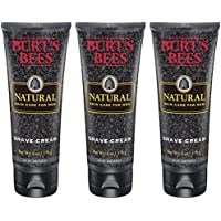 3-Pack Burt's Bees Natural Skin Care for Men Shave Cream