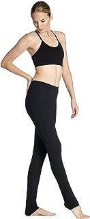 YTASN Negro Transpirable Ultra Slim Hip Movimiento Velocidad Bullet Hacer Yoga Pants
