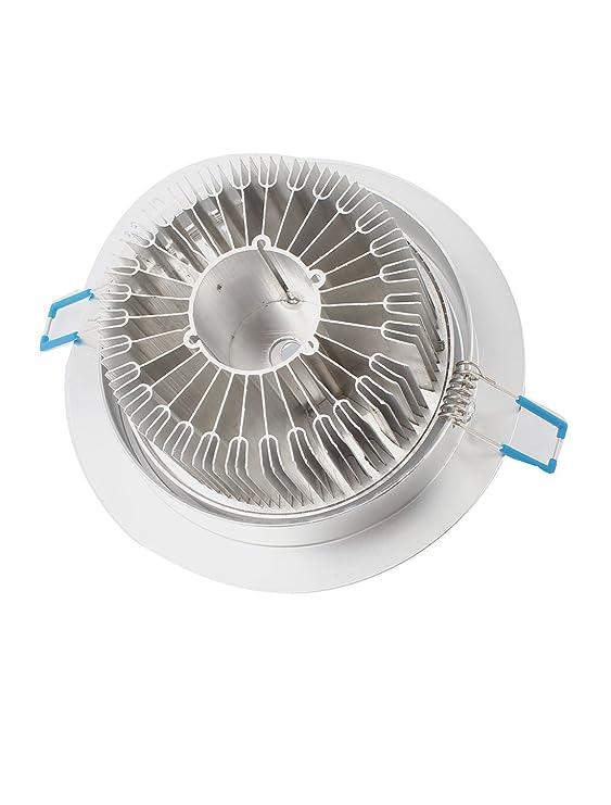 eDealMax 9W-12W aluminio del disipador de calor de 135 mm Dia 12 LED de luz de techo de la cáscara de lámpara - - Amazon.com