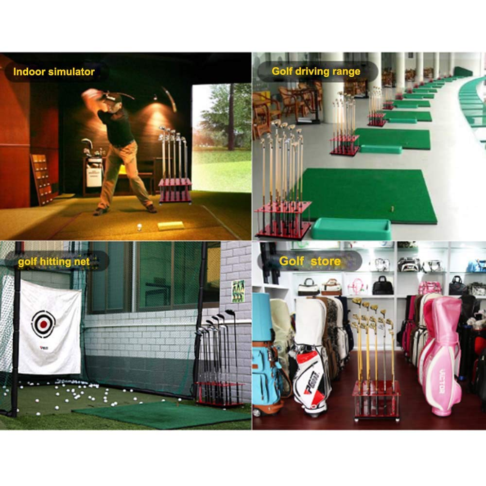 Amazon.com : PGM Golf Club Display Rack Durable Acrylic Storage 15 Clubs Golf Clubs Shelf Organizers Equipment : Sports & Outdoors
