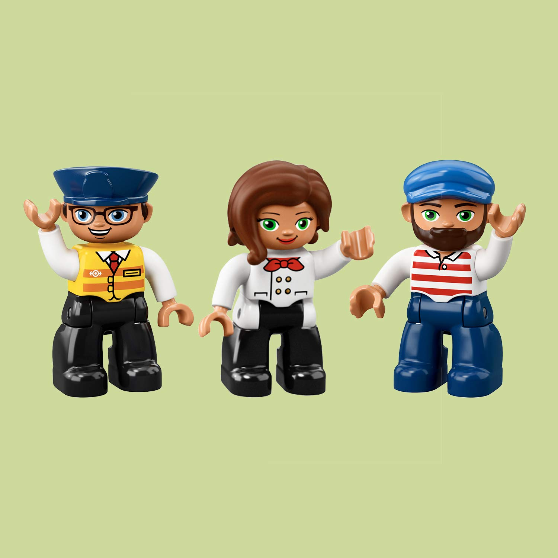 Minifigures di LEGO Duplo - Il grande treno merci