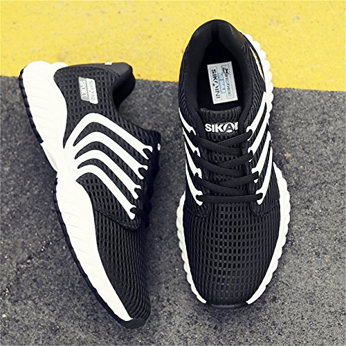 CLAMON Stylish Casual Turnschuhe Laufschuhe Innovative Breathable Design, beste Anti - Rutsch - Design Schwarz