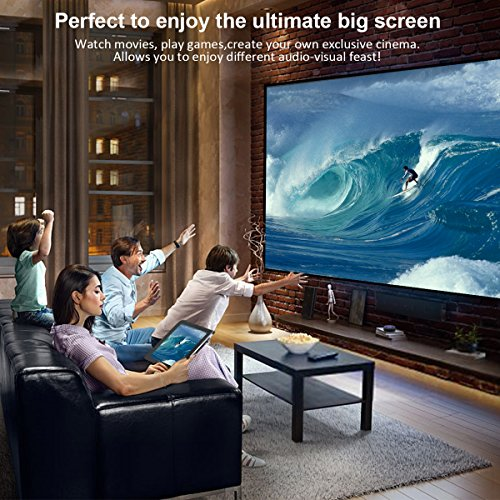 WIFI Display Dongle, ELEGIANT Wireless Screen Mirroring Adapter 1080P Video Receiver Mini Display Receiver HD AV Dual Output Support Airplay DLNA Miracast for iOS/Android/TV/Projector by ELEGIANT (Image #5)