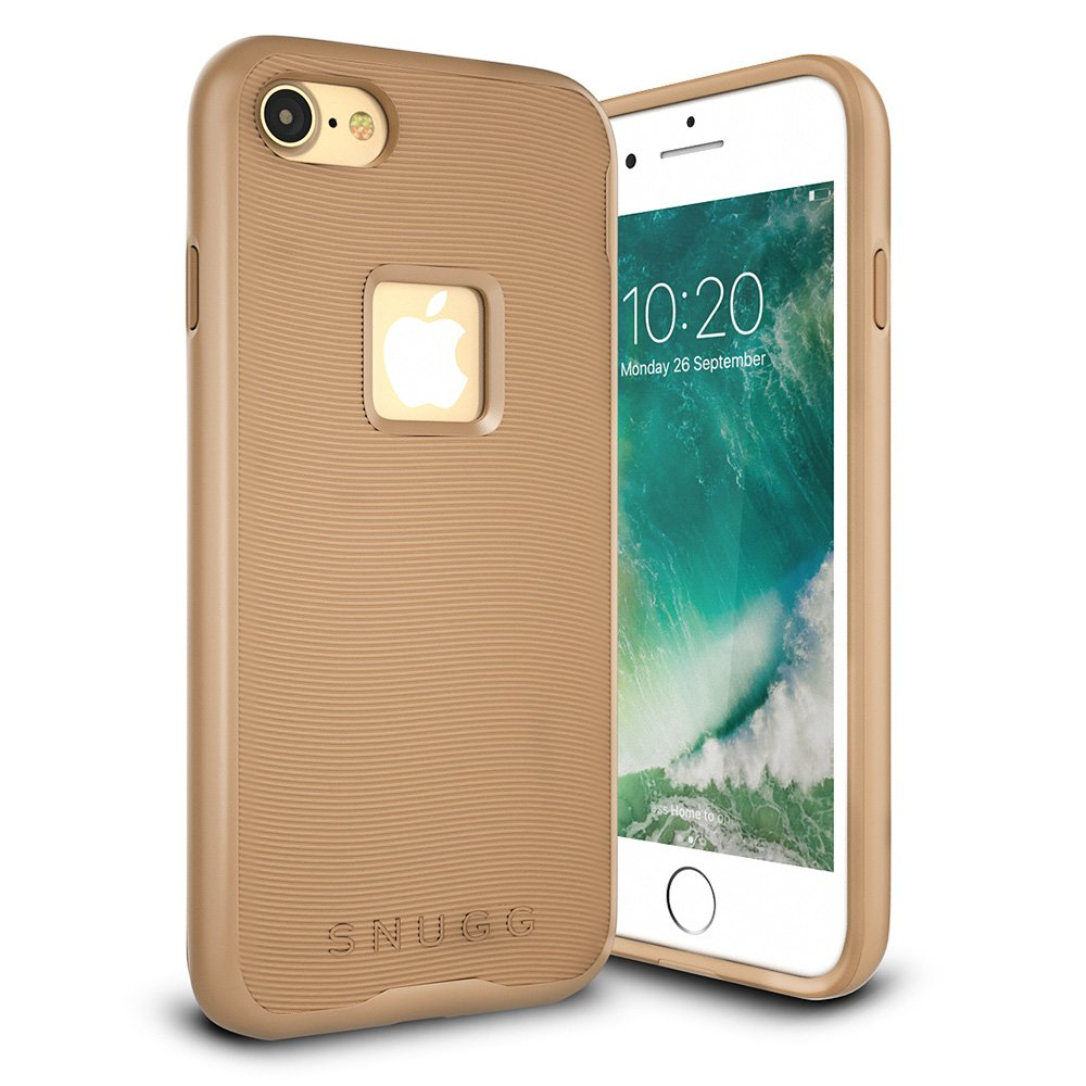 best service f10de d3cd1 Details about iPhone 7 Case - Snugg Slim Cover Protective Bumper [Pulse  Series] Silicone...