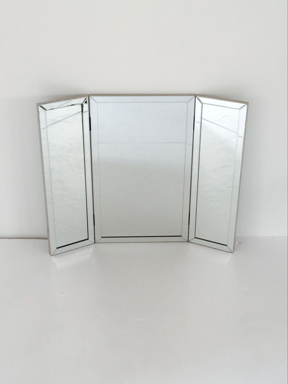 Tri-Fold Adjustable Desk-Top/Table Vanity Mirror by Designstyles