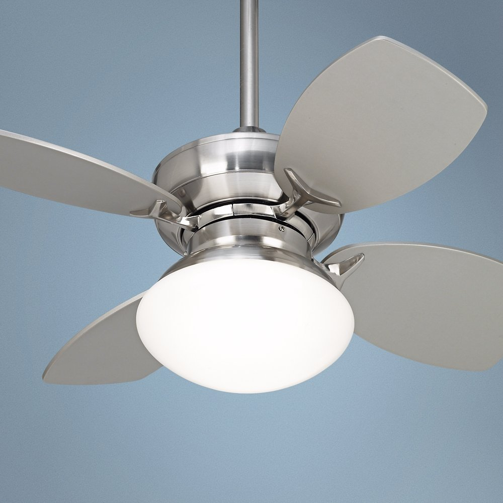 28 hana bay brushed nickel ceiling fan ceiling fans with lights 28 hana bay brushed nickel ceiling fan ceiling fans with lights amazon mozeypictures Images