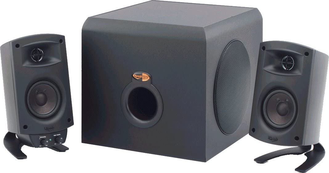 No Volume Control Klipsch ProMedia 2.1 Bluetooth Speakers Only