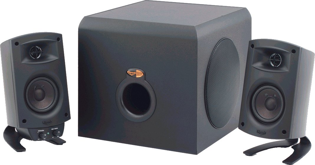 amazon com klipsch promedia 2 1 thx certified computer speaker amazon com klipsch promedia 2 1 thx certified computer speaker system black electronics
