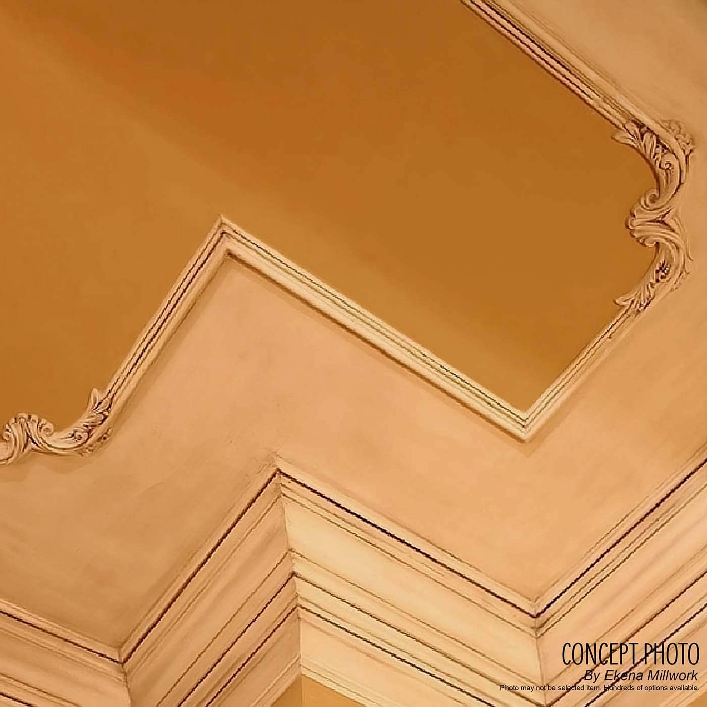 Ekena Millwork PML01X00AB-CASE-8 Panel Moulding Factory Primed 8-Pack 1 1//2H x 3//4P x 94 1//4L 8 Piece