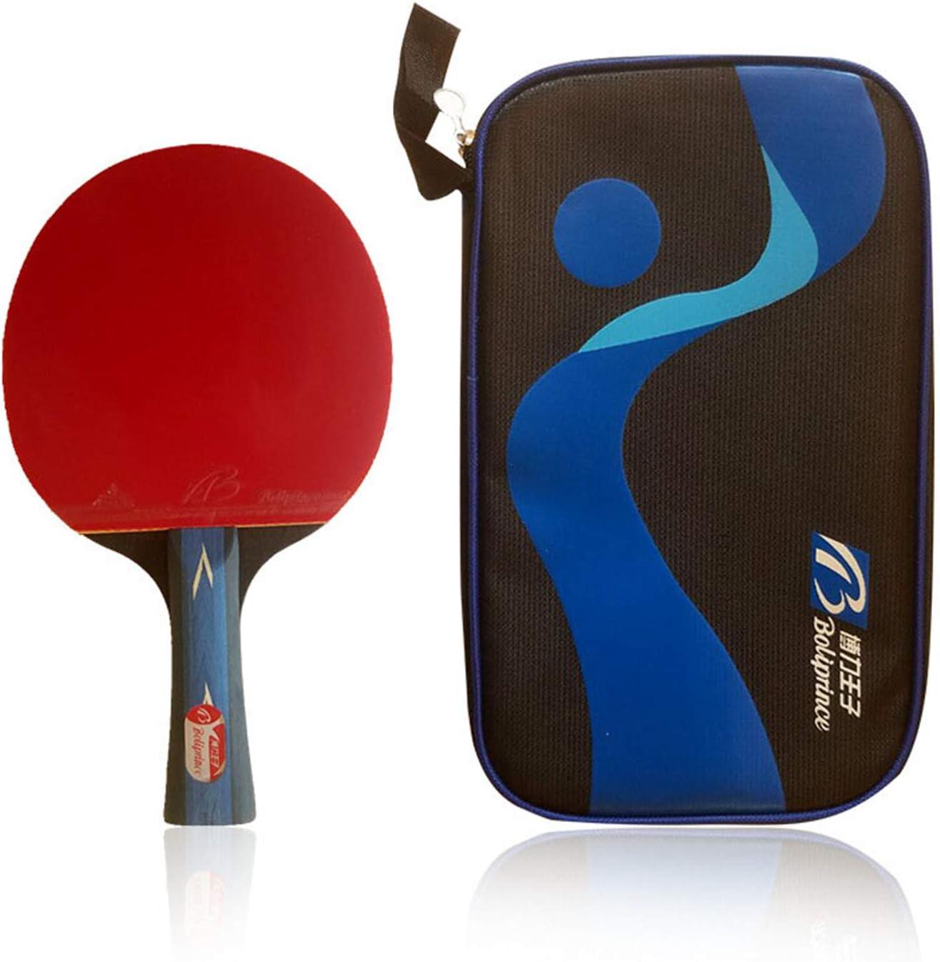 La ITTF Reconoce El Bate De Tenis De Mesa, La Raqueta De Tenis De Mesa Profesional, 5 Capas De Madera Y 4 Capas De Fibra De Carbono