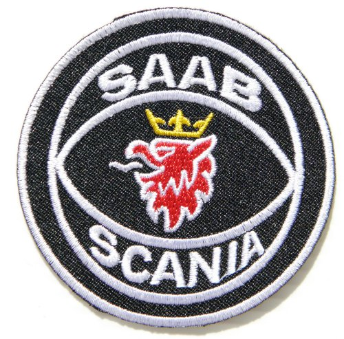 Used, SAAB SCANIA Logo Sign Motorsport Car Truck Patch Sew for sale  Delivered anywhere in Canada