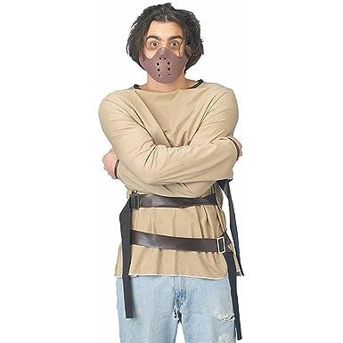 Amazon.com: Straight Jacket Adult Costume: Clothing