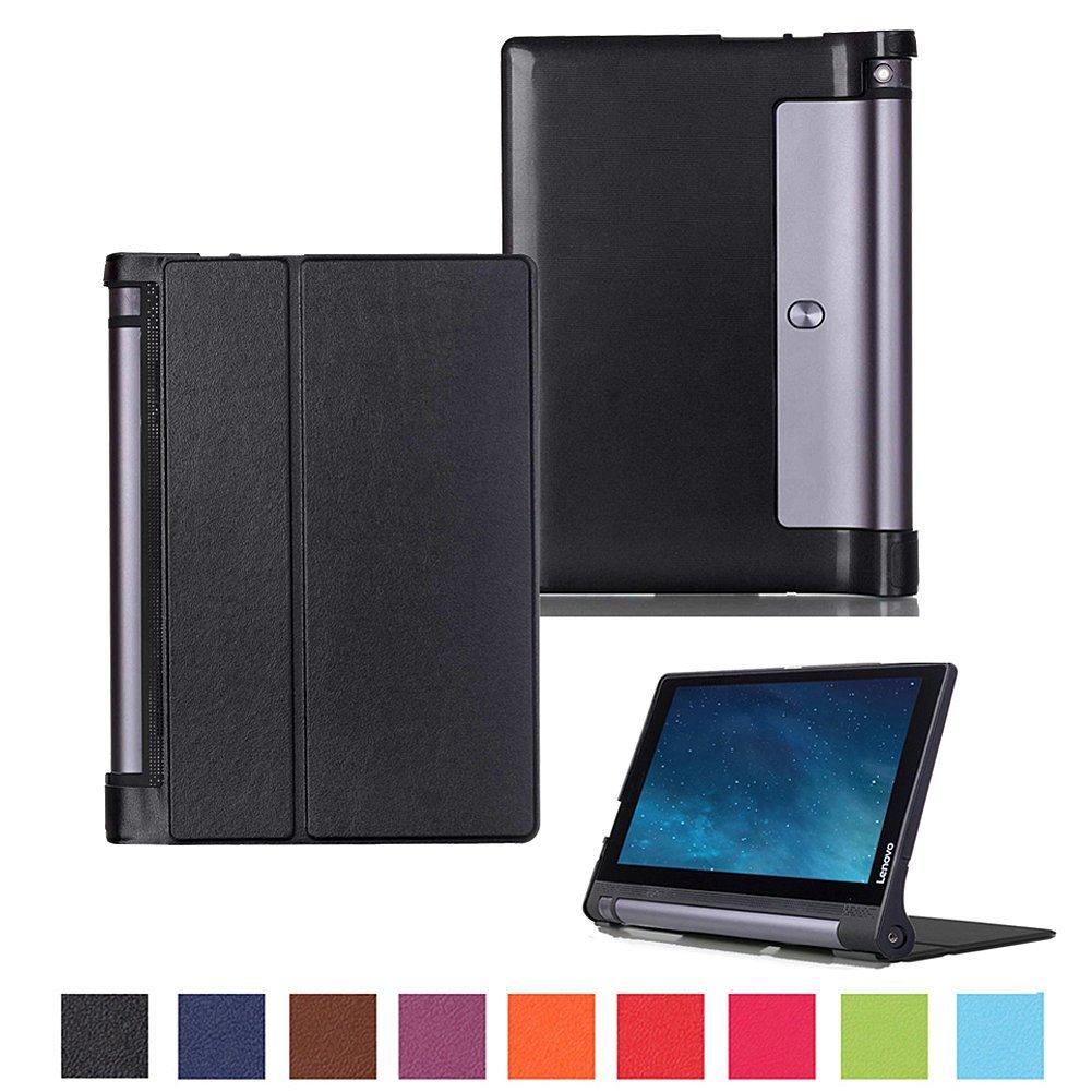 Kepuch Custer Lenovo Yoga Tab 3 10.1 X50L X50F Case - Ultra-Thin Custer PU Leather Case Shell Hard Case Cover for Lenovo Yoga Tab 3 10.1 X50L X50F - ...