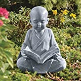 Design Toscano Baby Buddha Studying The Five Precepts Statue